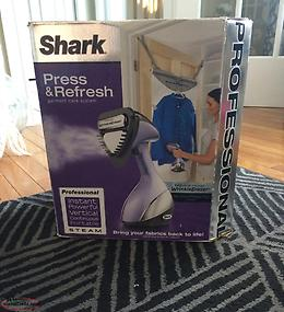 Shark Press and Refresh garment care system