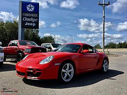 "2007 PORSCHE CAYMAN - ""LIKE NEW"" ONLY 44,000 KM AT MARSH MOTORS!!!!!!"