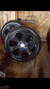 "22"" GMC Tires And Rims"