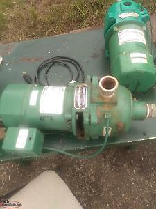Shallow well pumps used