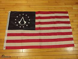 Various Assassins Creed Full Size Authentic Flags