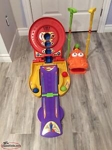 Playskool Bulls-Eye and Gator Golf Games