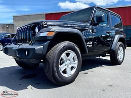 ONE ONLY NEW 2019 JEEP WRANGLER SPORT (2-DR AUTO) AVAILABLE AT MARSH MOTORS!!!