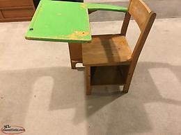School desk** Vintage**Birch**