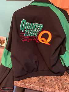 Men's Quaker State Racing Jacket Size Medium