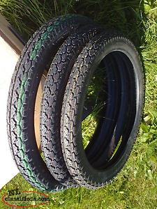 Moped Tires - (one) 250 X 17 & (Two) 225 X 16
