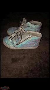High Top Sparkle Sneakers Size 3