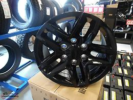 "17"" AND 18"" BLACK 6-LUG WHEELS..FITS MOST GM TRUCKS..NEW SHIPMENT JUST IN!!"