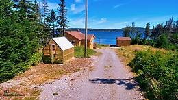 Overlooking Hare Bay, 2 bdrm cottage/summer home