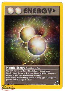 Pokemon Card: Energy (Miracle Energy) First Edition Holo