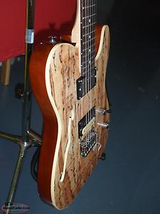 RoHS guitar with spalted wood