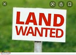 Land wanted in CBS area