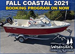 Fall Coastal 2021 Booking Program on Now!