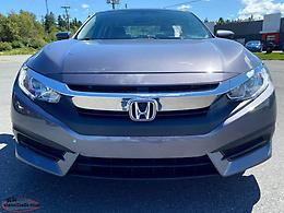 2017 HONDA CIVIC LX SEDAN - 4DR AUTOMATIC WITH ONLY 52,000 KILOMETRES!