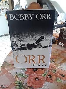 bobby orr signed book