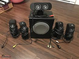 Logitech X-530 5.1 Surround Sound Speaker with Subwoofer