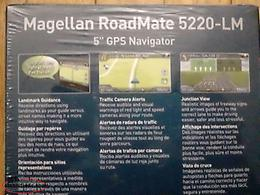 "Large Car GPS - 5"" Magellan Roadmate 5220LM"