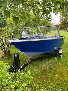 14 Foot Aluminum Boat And Trailer