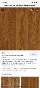 Bruce hardwood flooring WANTED