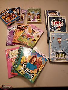 Collection of tween books