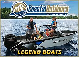 Legend Boats at Coastal Outdoors!