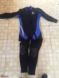 Two pice wet suit