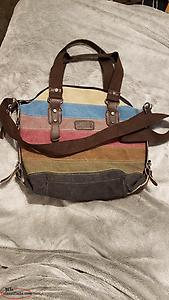 Multi-color Messager Handbag