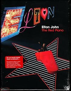 ELTON JOHN, The Red Piano (2 DVD / 2 CD Box Set) LIVE IN CONCERT Box S