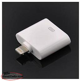 Data Lightning Cable Sync 8-30pin Adaptor Connector for iPhone 5, iPad Mini & iP