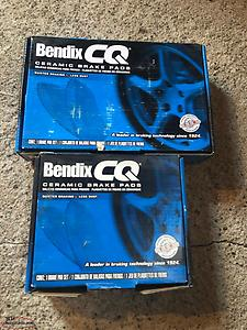 New Front & Rear Bendix Brake Pads - Fits 2009 Pontiac G8
