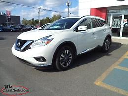 *** 2017 NISSAN MURANO SV AWD *** LOW KM! CERTIFIED PRE-OWNED!!