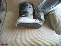 new hand made man seal skin boots