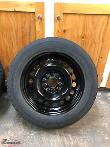 "15"" Snow Tires and Rims"