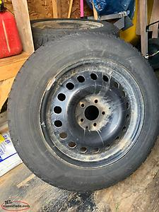 225-65R17 Winter Tires on Rims for Honda CRV