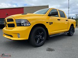 STINGER YELLOW 2019 RAM 1500 CREW CAB AVAILABLE AT MARSH MOTORS!!!