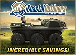 INCREDIBLE ARGO SAVINGS! Up to $5000 off at Coastal Outdoors!