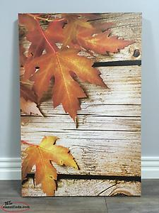Canvas Print (Autumn Leaves)