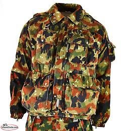 Swiss Army M70 Alpenflage Camo Loadbearing Jacket NO TAXES