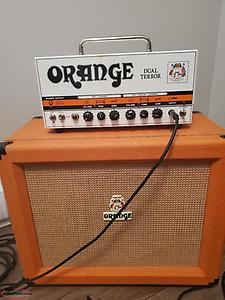 Orange Dual terror head w/ppc 112 orange cab