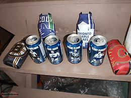 pepsi cans and holders with nhl newfoundland players