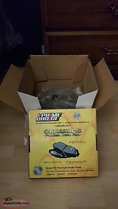 Brand New Rear Rotors and Brake Pads to Fit Hyundai and Kia