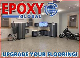 UPGRADE YOUR FLOORING with EPOXY GLOBAL