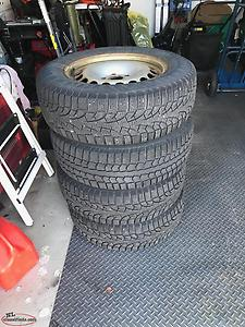 Selling winter tires and rims