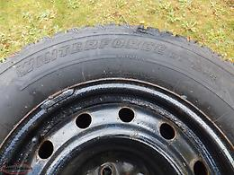 4 Firestone winterforce UV m+s tires and rims