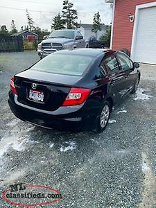 *****2012 Honda Civic 5 speed standard***