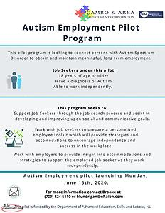 Autism Employment Program