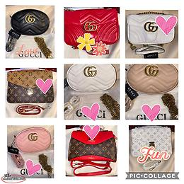 Brand name purses and bags