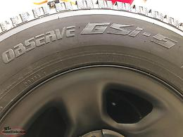 Toyo Observe GSi-5 Winter Tires on Rims