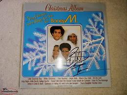 Boney M Christmas Record Autographed