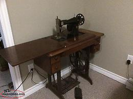 anrique sewing machine that works